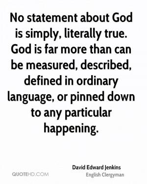 David Edward Jenkins Quotes