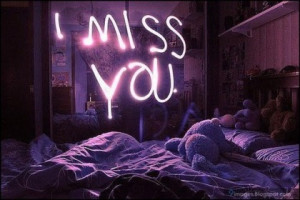 you post on Facebook and I feel sad. Terribly sad because I miss you ...
