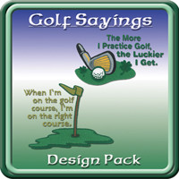 golf sayings pack price $ 28 95 this collection of golf sayings ...