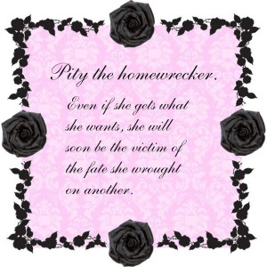 homewrecker, created by casstevens on Polyvore: Wrecker, Karma, Quote ...