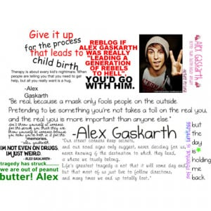 Related Pictures alex gaskarth funny quotes doblelol