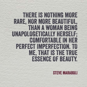 Beautiful. than a woman being unapologetically herself; comfortable ...