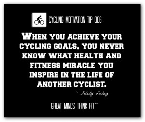 Cycling Motivation Tip and Quote #006