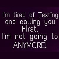 nope #more #texting #calling