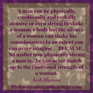 Women Are Emotionally Stronger Than Men.