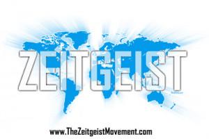 Zeitgeist Movement Map White T Shirt Moving Forward