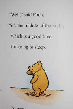 Winnie the pooh quote life