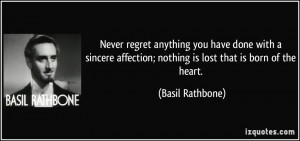 More Basil Rathbone Quotes
