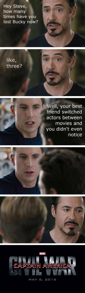 ... Cap do battle in 'Captain America: Civil War,' according to Tumblr