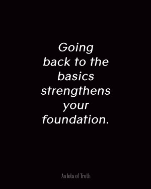 Going Back To Work Quotes Going back to the basics
