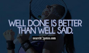 Job Well Done Quotes