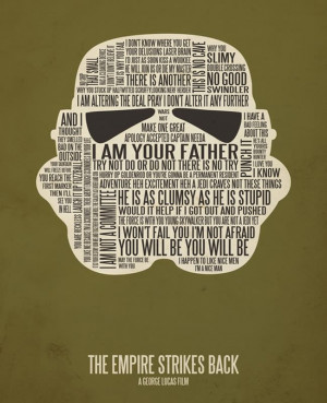 Typographic Movie Posters Filled with Famous Quotes