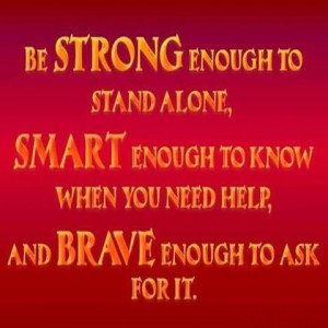 ... enough to ask for it. Via Facebook ~ Carol's Daughter #quotes #strong