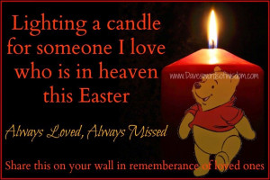 Lighting A Candle For Someone In Heaven This Easter Pictures, Photos ...