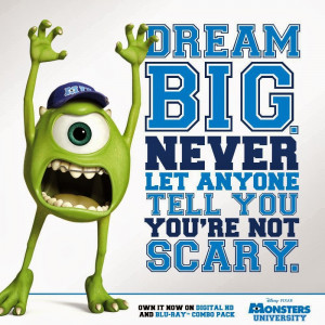 Monsters University on Blu-ray