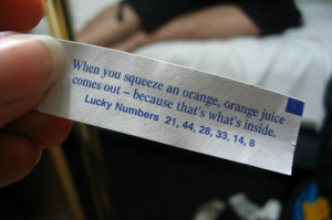 The 20 Funniest Fortune Cookie Fortunes