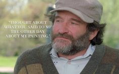 GOOD WILL HUNTING | Sean (Robin Williams) | via facebook.com More