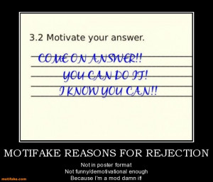 funny rejection picture