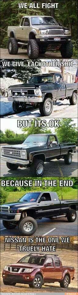 Diesel Truck Meme – Ford Chevy Dodge GMC