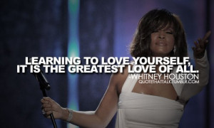 whitney houston quotes 16
