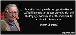 Self Fulfillment Quotes