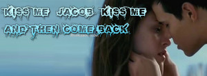 bella kiss quotes jacob black quote twilight characters drawn as