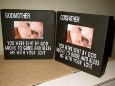 Personalized Godmother Godfather Godparent Gift Godparent Picture ...