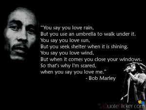 You say you love Rain...