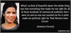 Real Women Have Curves Quotes More america ferrera quotes