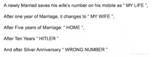 Anniversary Quotes For Husbands (good laughs)