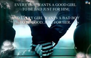 What a guy wants and what a girl wants
