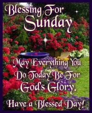 Sunday Blessings Fet Not