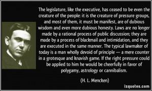 Mencken Quote