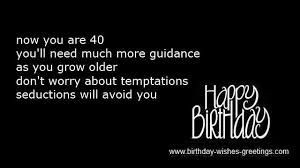funny quotes for turning 40