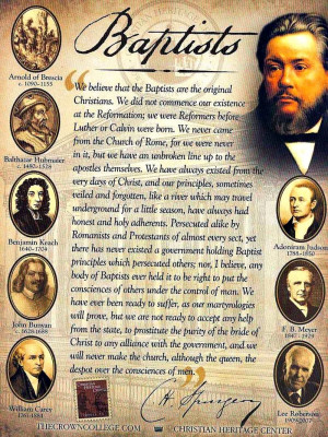 "No, Charles Spurgeon was not a ""Reformed Baptist""..."