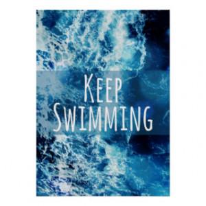 Swim Quotes Artwork