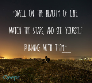... of life. Watch the stars, and see yourself running with them