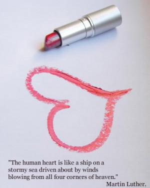Human Heart Is Like A Ship