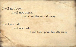 Breaking Benjamin- I Will Not Bow