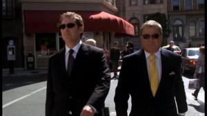 William Shatner in Boston Legal as Denny Crane