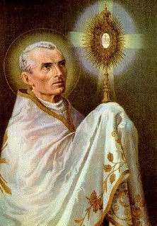 is the optional memorial of st peter julian eymard priest st peter ...