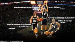 Spurs Big 3 Quotes Widescreen 1920×1080 Wallpaper