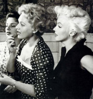 Quote of the Day: Judy Holliday on Marilyn Monroe