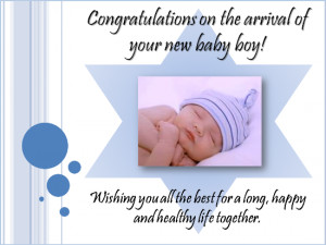 These new baby congratulations greetings can be used on their own or ...