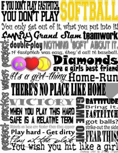 softball quotes more softball life softball baseb birthday parties ...