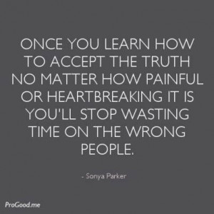 Don't waste time on the wrong people