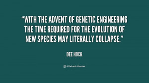 With the advent of genetic engineering the time required for the ...