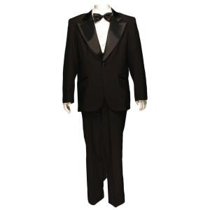 Dumb and Dumber Costume - 1970's Tuxedo - Black Tuxedo
