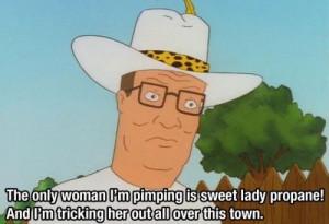 ITT: We quote Hank Hill