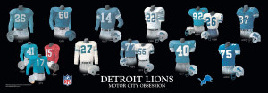 The Evolution Detroit Lions